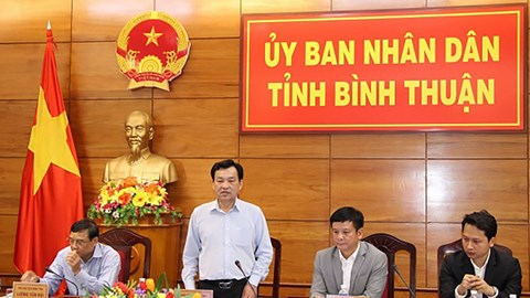 Chairman of the Provincial People's Committee had a meeting with Enterprize Energy