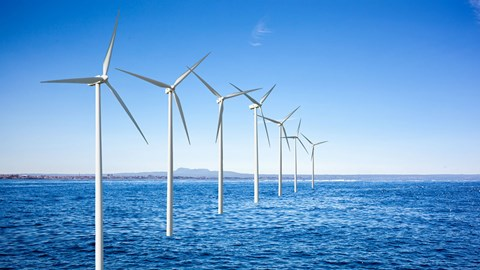 Evaluation and risk analysis of KE GA ofshore wind power project