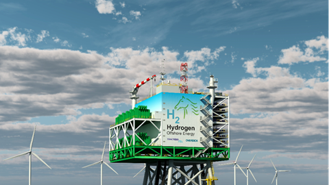'One-stop' offshore wind platform for green hydrogen and ammonia planned