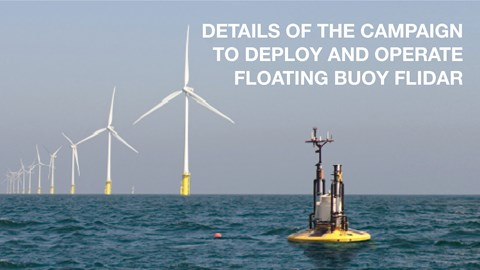 Details of the campaign to deploy and operate floating buoy Flidar - Thang Long Wind Project (off Ke Ga Cape), Binh Thuan province