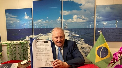 Government signs agreement for energy production at sea, green hydrogen and ammonia